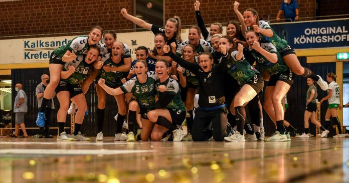 TV Aldekerk comes into the second division of handball after 24:22 against SG Kirchhof