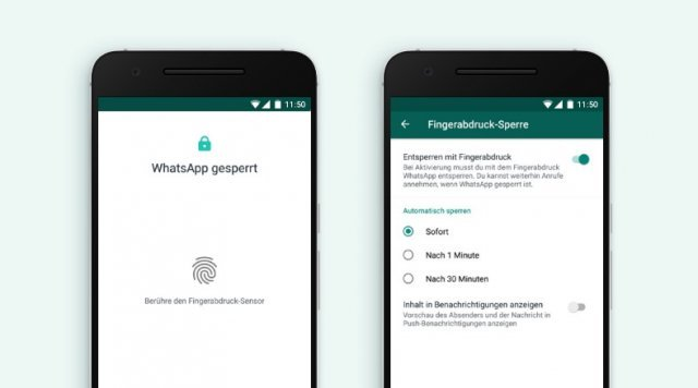 The fake call can come directly from WhatsApp