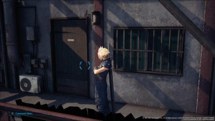 The famous door now looks like an ordinary door • JPGAMES.DE