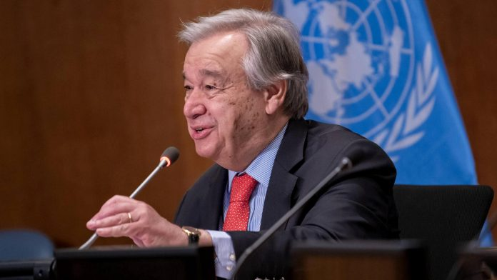 UN Secretary-General Guterres appointed for a second term