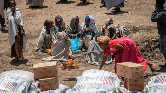 United Nations Children's Fund (UNICEF): 350 thousand people in northern Ethiopia are at risk of starvation