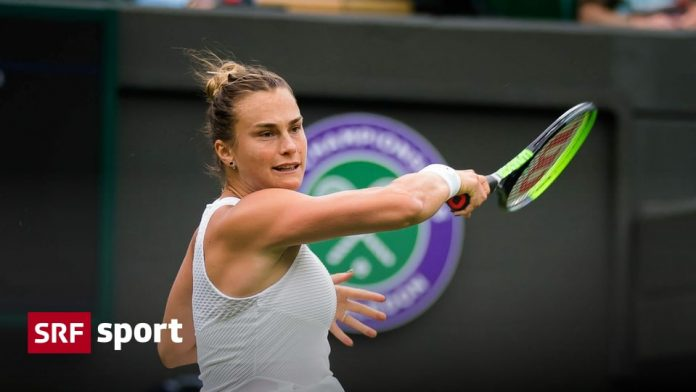 Wimbledon Round: Women's - Sabalenka sweeps playoffs off the field in round two - Sports