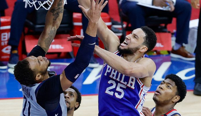 Without Joel Embiid!  Philadelphia 76ers advance to the conference semi-finals with Center Ben Simmons