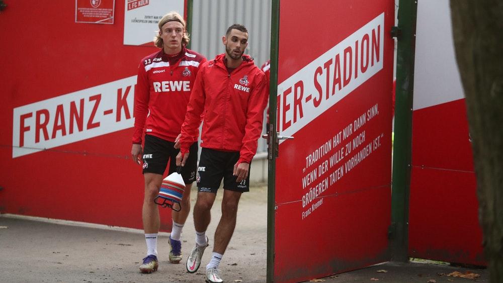 Elias Sakhiri and Sebastian Bornau came from training at 1. FC Cologne.