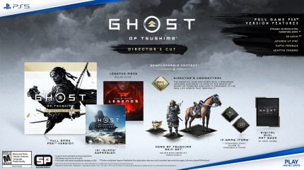 Ghost of Tsushima: Exit Pieces Pre-order Bonuses Announced (2)