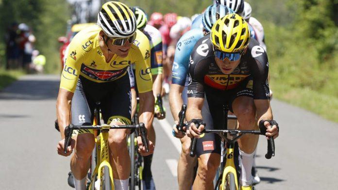 Tour de France: Van der Poel extends lead - Roglic weakens