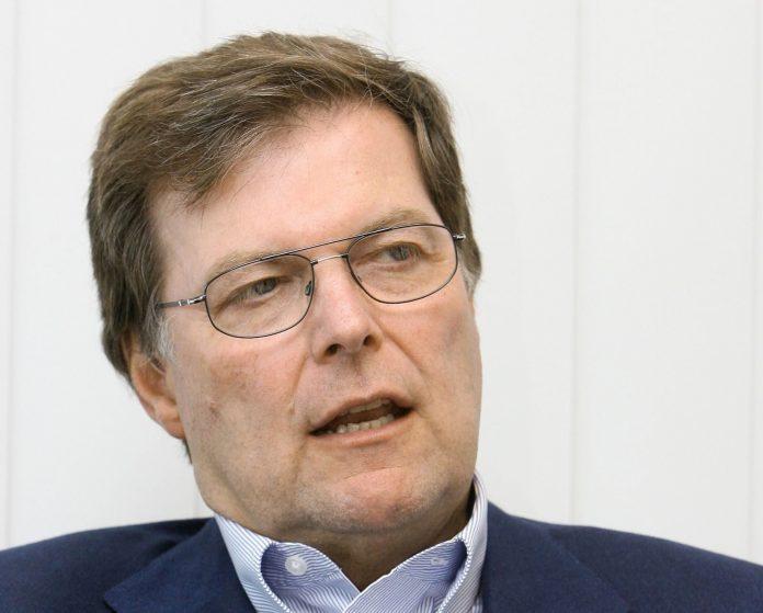 Klaus Gehrig, Leiter der Schwarz Gruppe.
