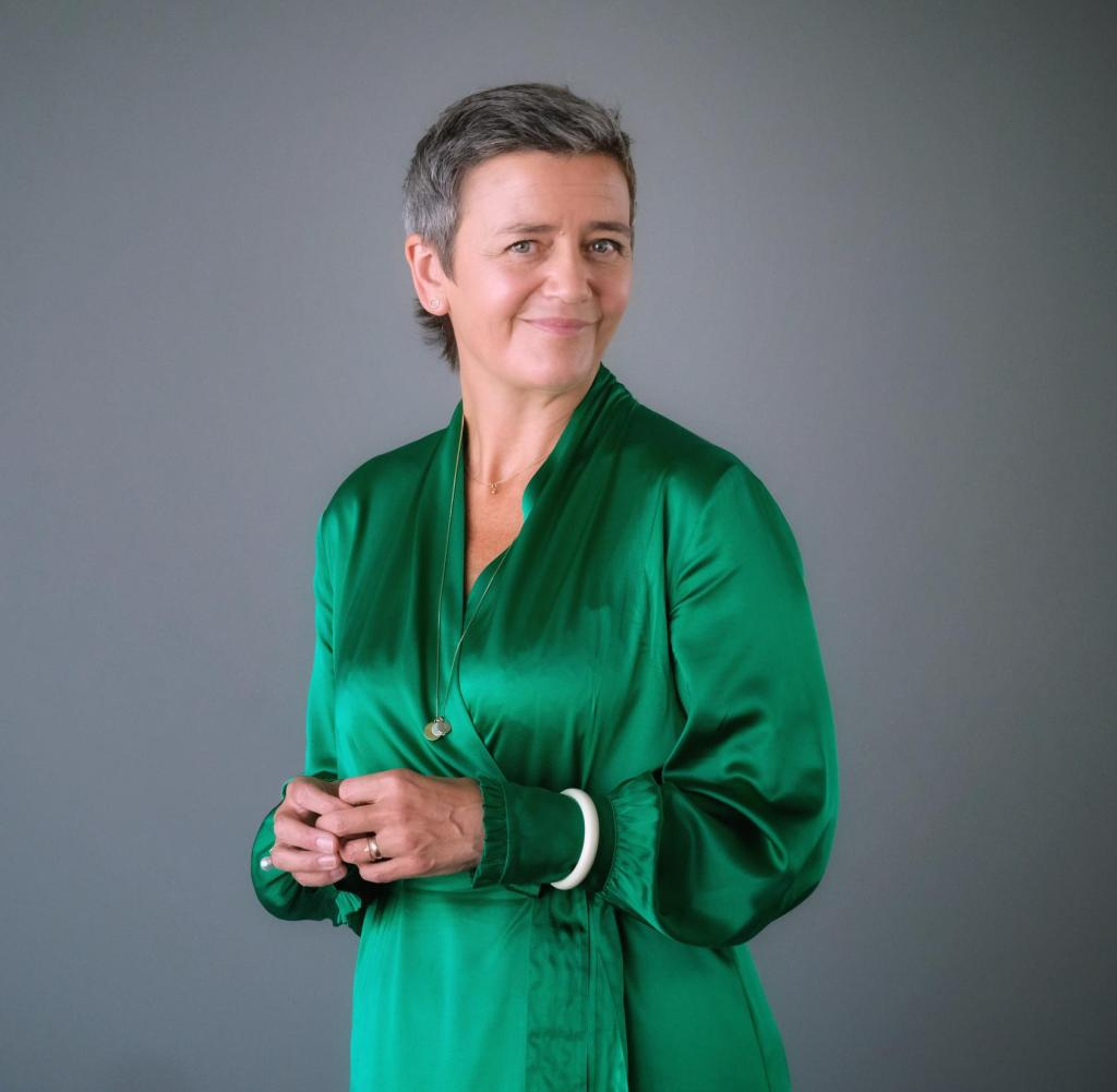 Margrethe Vestager - Danish politician from the radical Social Liberal Party - European Commissioner for Competition - has been admitted to the Axel Springer Journalists' Club