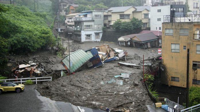 Japan: landslide in Atami - dead and missing after mudslide - news abroad