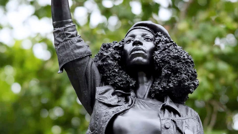 """Jane Reed: Statue """"Black Lives Matter Movement""""The activist in Bristol is disabled"""