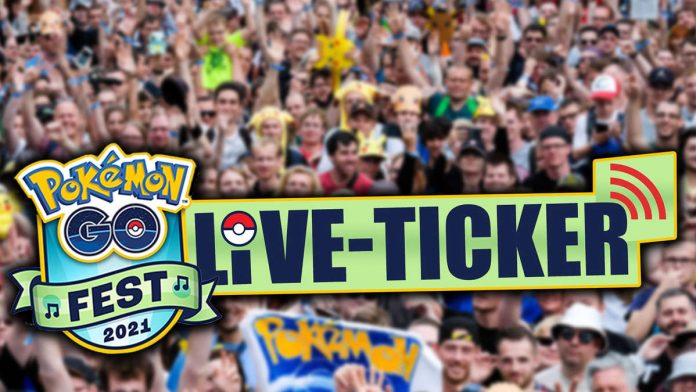 Pokémon GO Fest 2021: Live action tape - starts Saturday with a big surprise