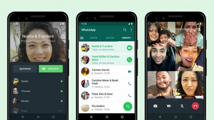 WhatsApp is reviewing group calls: this limitation still exists