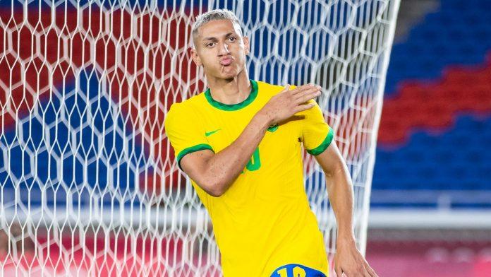 Brazil 4-2 Germany: Richarlison scored a hat-trick in Brazil's Olympic opener