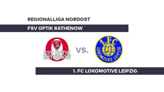 FSV Optik Rathenow - 1. FC Lokomotive Leipzig: Clear defeat for Rathenow - Regionalliga Nordost