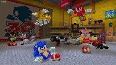 Minecraft: New Sonic DLC gives the blue hedgehog a blocky look (1)