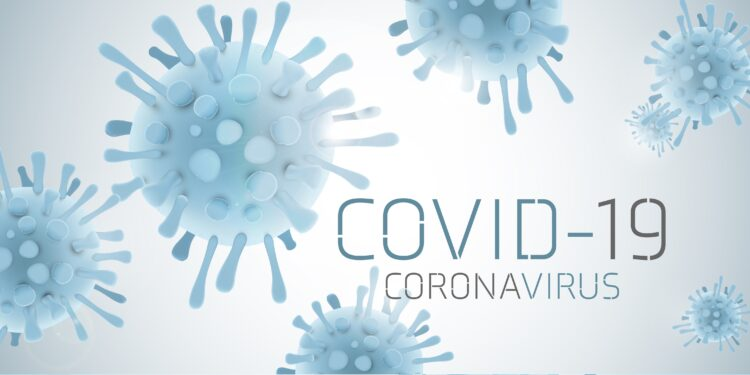 Picture of the virus called COVID-19.