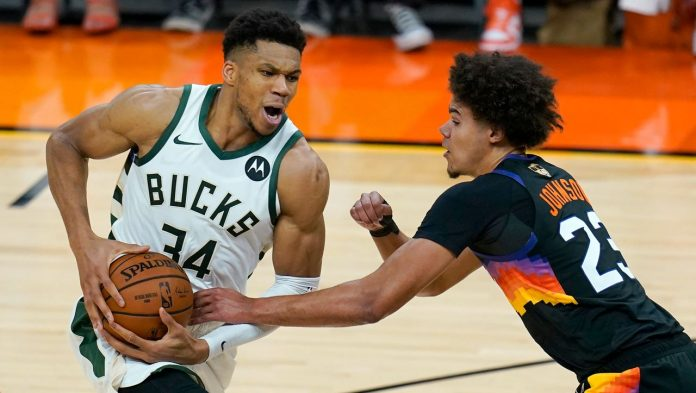 Basketball: The Phoenix Suns advance 2-0 in the NBA Finals against the Milwaukee Bucks