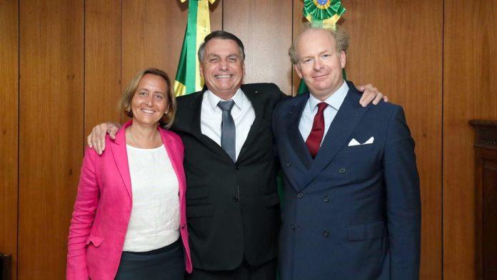 Brazil: Jair Bolsonaro receives Beatrix von Storch (AfD)