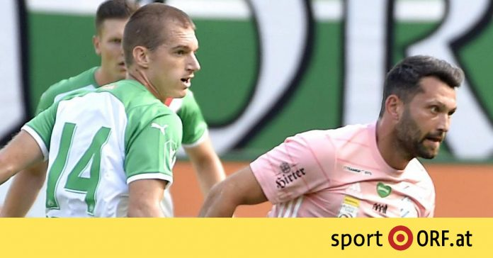 Bundesliga: Rapid progression, false start against Hartberg