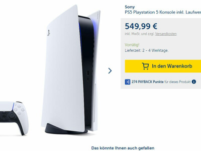 The PS5 was available from Mytoys.