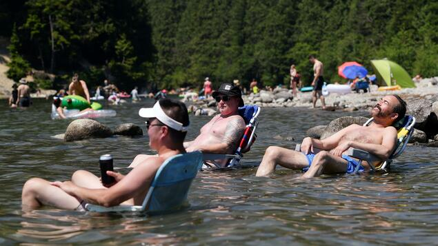 Canada reports temperature record of 49.5 degrees: 'Climate change makes the impossible possible' - Panorama - Geiselshaft