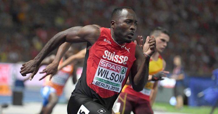 Confusion over Alex Wilson's European 100m record