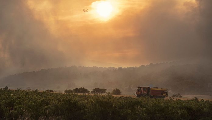 France, Spain and Sardinia: forest fires in the Mediterranean - hundreds of residents evacuated