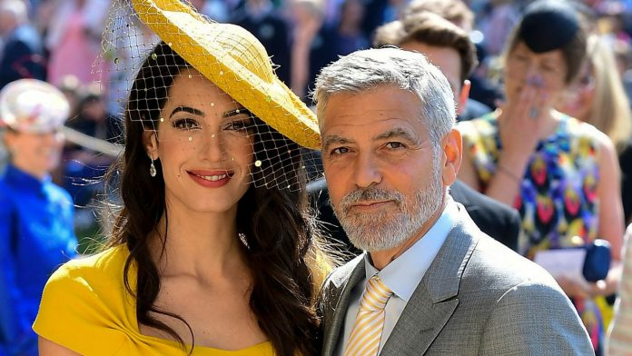 George Clooney and Amal are said to have twins again