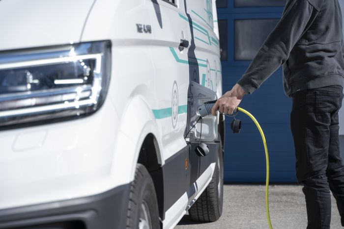 Create the largest fleet of electric trucks.  (Photo: Euro-Leasing)