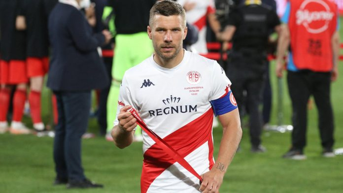 Lukas Podolski is likely to move to Poland
