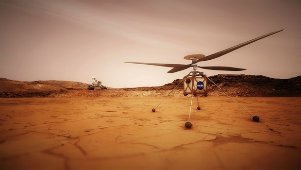 Mars: NASA drone lands safely after most dangerous flight yet