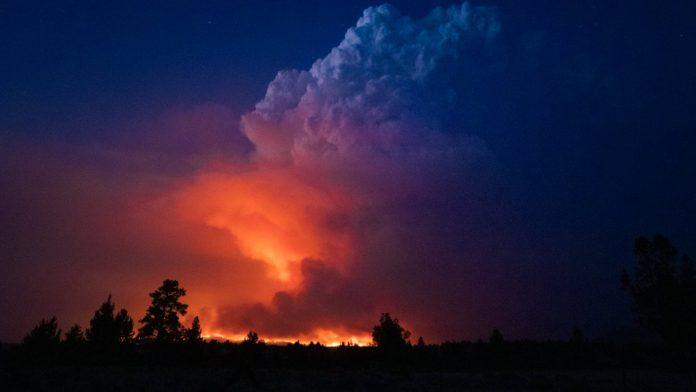 Oregon: Wildfires destroyed dozens of homes