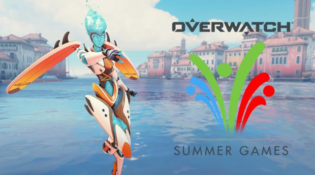 Overwatch: Summer Games event starts today