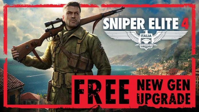 Sniper Elite 4: Free upgrade available for new generation