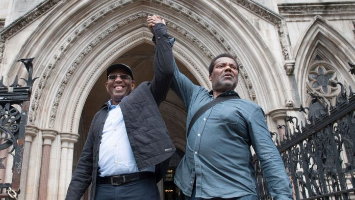 UK: Court overturns three men's convictions after nearly 50 years