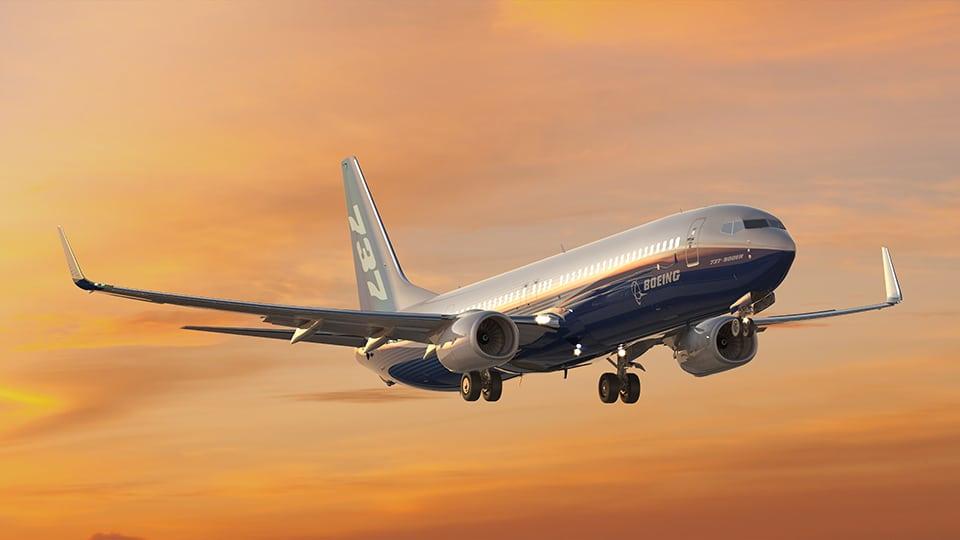 Boeing 737 Max Flight Image