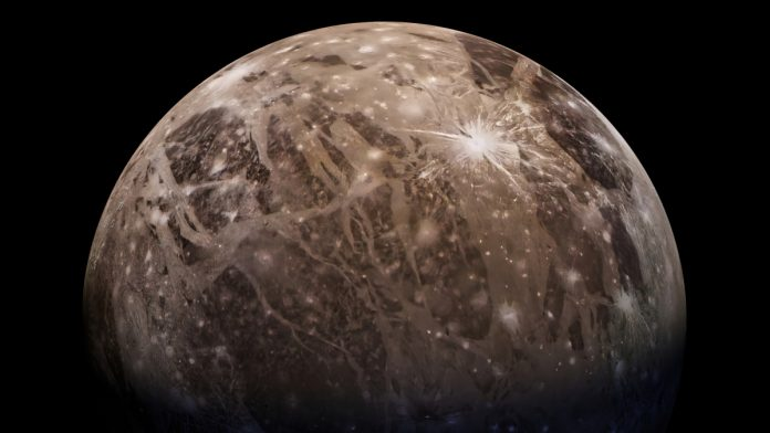 Water vapor discovered in the atmosphere of Jupiter's moon Ganymede