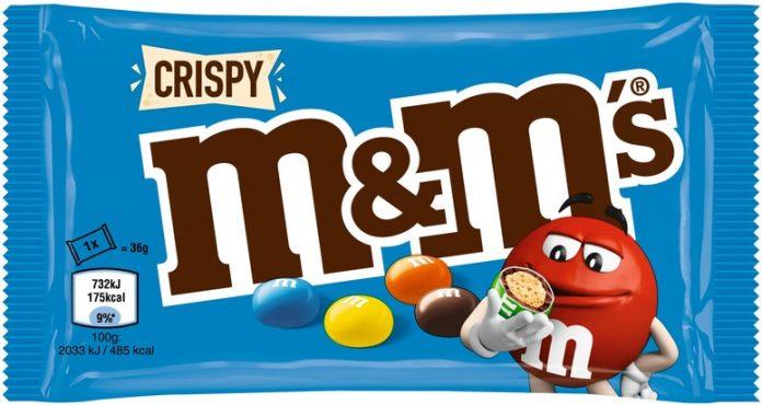 Produktrückruf / Betroffen sind einzelne M&M'S Crispy Produkte mit zwei Mindesthaltbarkeitsdaten