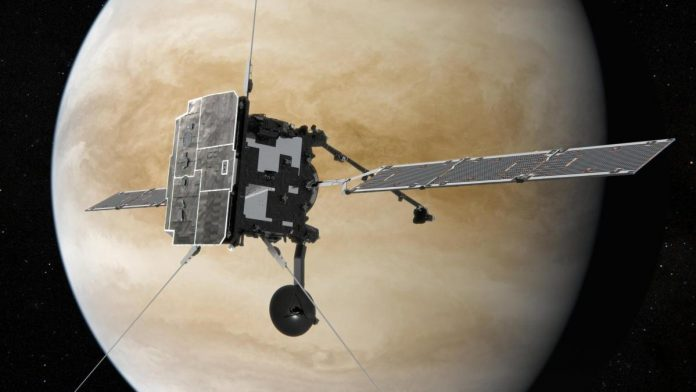 Space: Now three probes fly in parallel around Venus