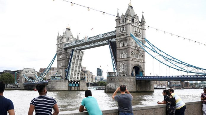 Tower Bridge in London can be used again