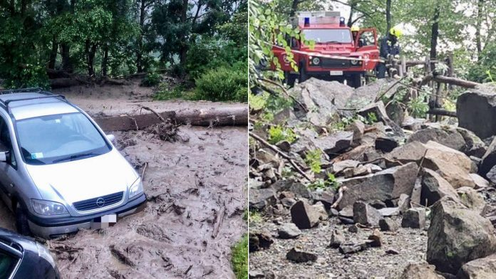South Tyrol storm: mudslides wreak havoc - with dire consequences