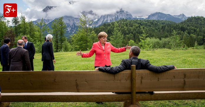The chancellor's foreign policy: Merkel on the big stage