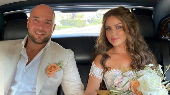Kim Glos and her boyfriend Alexander got married in Rome