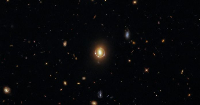 Hubble succeeds in capturing a stunning image of the Einstein Ring