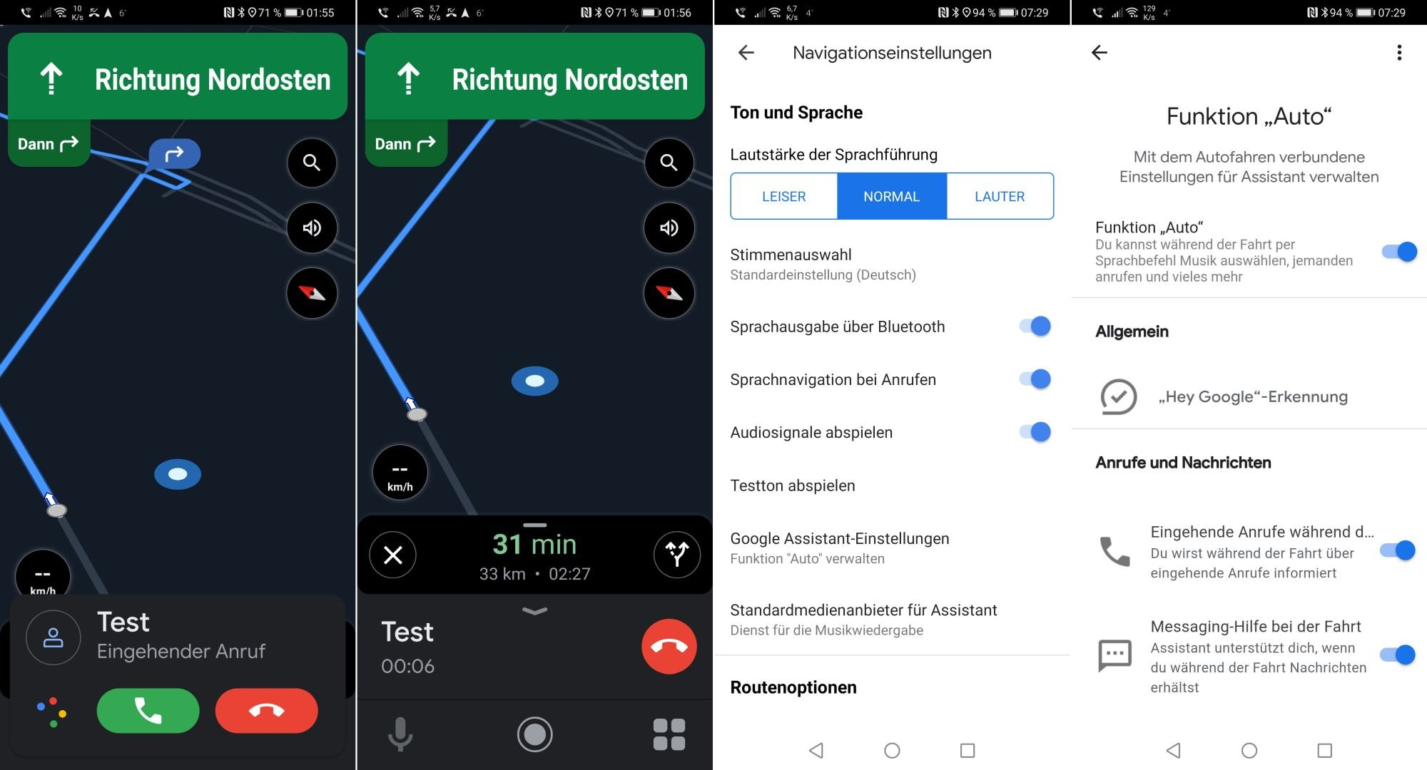 Driving Mode Google Android Assistant Automatic
