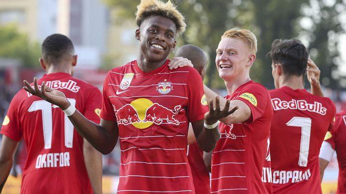 German League: Red Bull Salzburg beats Admira