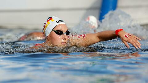 Leonie Beck shows a strong Olympic race