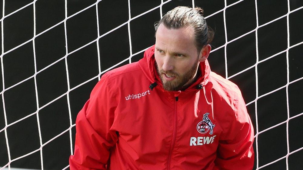 Marco Hueger in training 1. FC Köln.