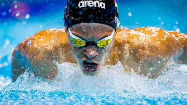 Paralympic debut: Talieso Engel in the 400m freestyle final