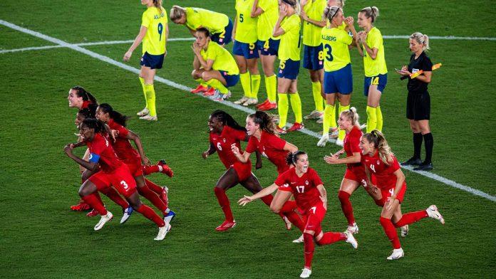 Kanada hat das Olympia-Finale im Frauenfußball gegen Schweden gewonnen.